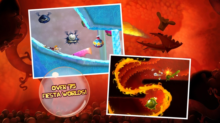 Rayman Fiesta Run screenshot-2