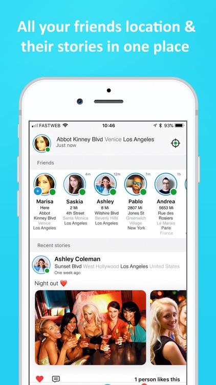 Find friends app online