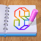 App Icon for Art Drawing 3D App in United States IOS App Store