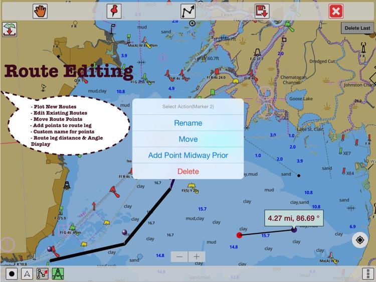 i-Boating:HD Gps Marine Charts screenshot-4
