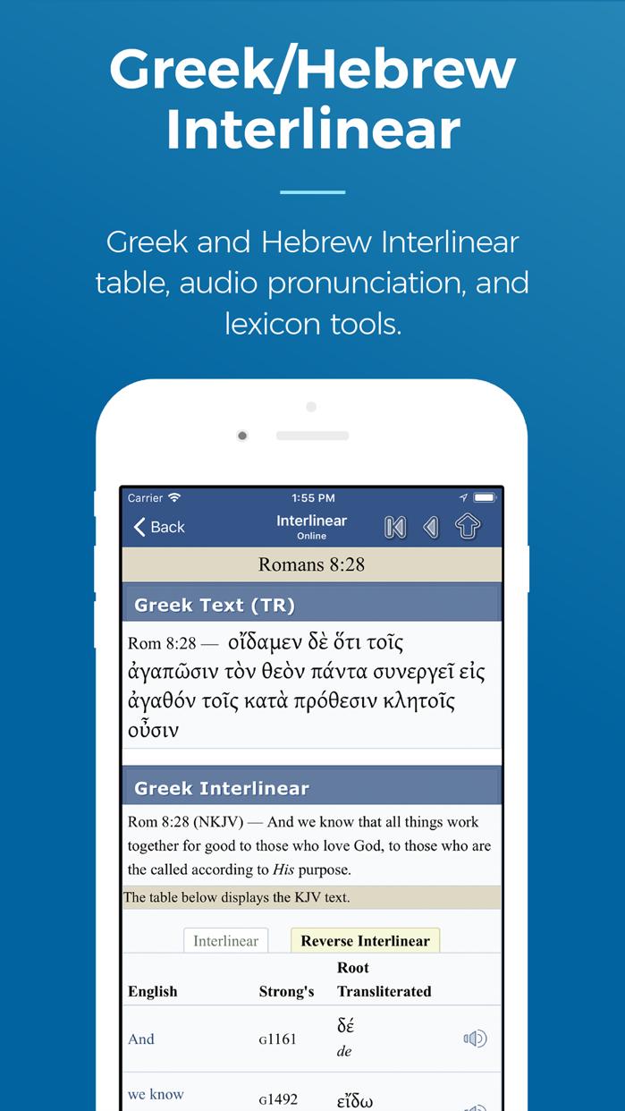 Blue Letter Bible Screenshot