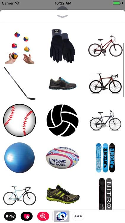 Fun Sports Stickers!