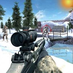 IGI Commando Shooter Snow War