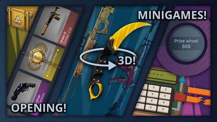 Case Opener - skins simulator screenshot-0
