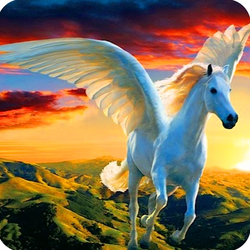 Image result for a flying horse