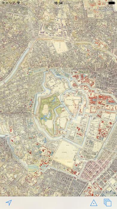 東京時層地図のおすすめ画像1