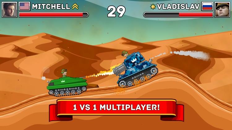 Hills of Steel screenshot-0