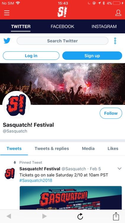 Sasquatch! Festival 2018 screenshot-4