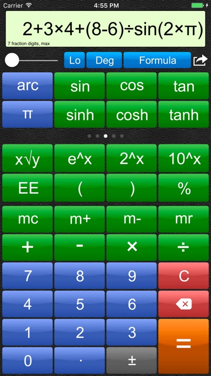 Talking Scientific Calculator screenshot-0