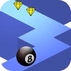 B Ball Zig Zag Run icon
