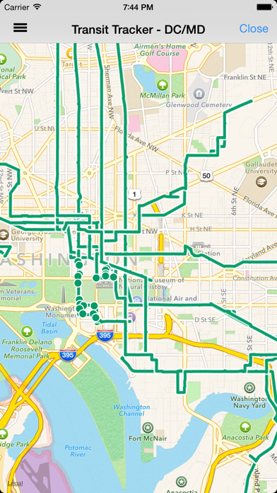 Transit Tracker - DC/Maryland-2