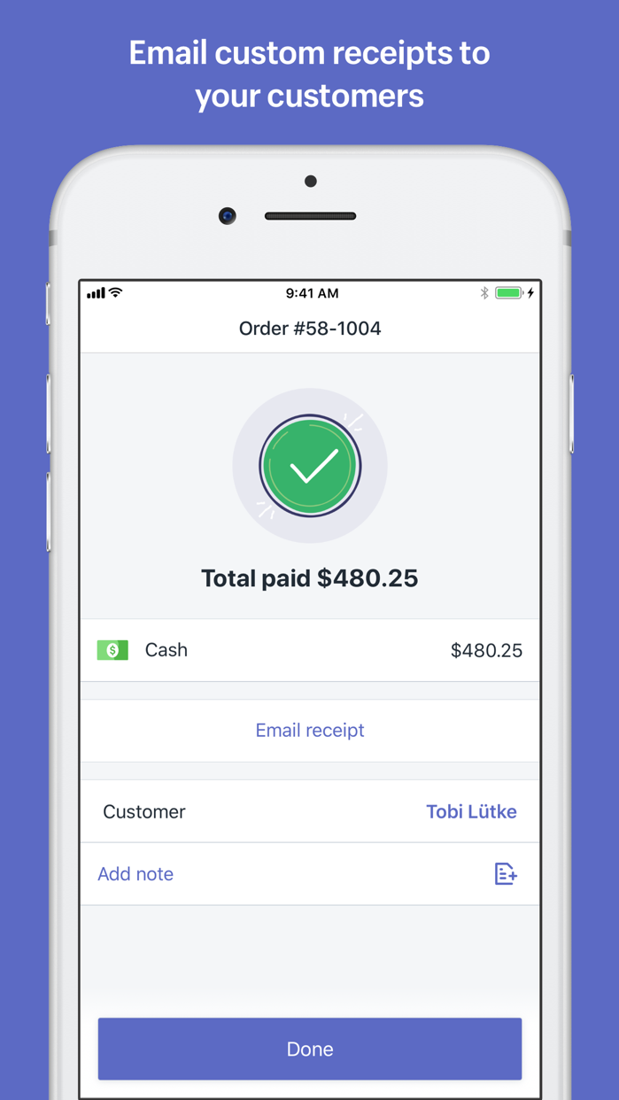 Shopify POS: Point of Sale Screenshot