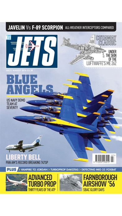 JETS Magazine - Aviation heritage news on classic airliner, military aircraft, aeroplane & jets-0