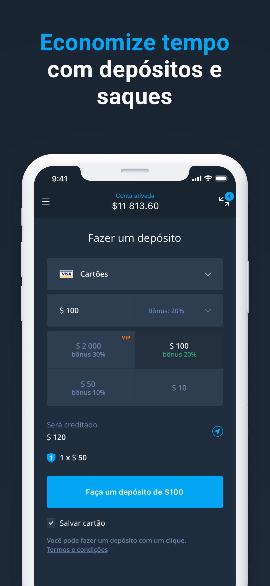 Screenshot do app Olymp Trade - Negocie online