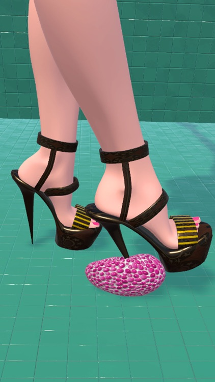 Shoe Crushing! Satisfying Art screenshot-6