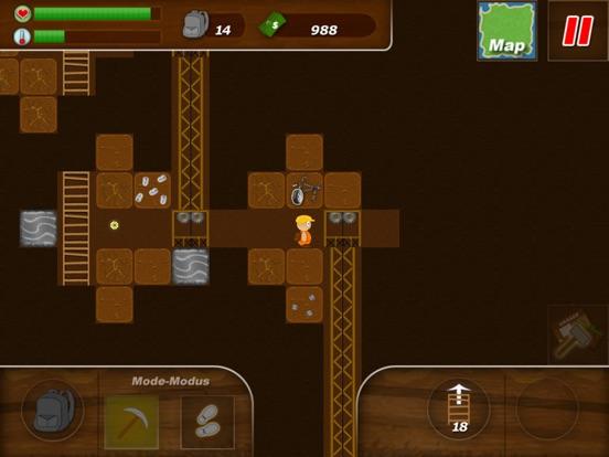 Screenshot #2 for Treasure Miner Lite - 2d gem