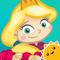 App Icon for StoryToys Sleeping Beauty App in Belgium IOS App Store