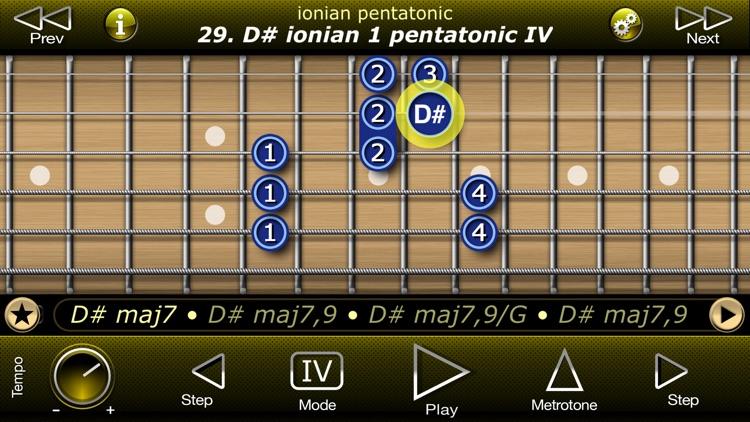 Guitar Modal Pentatonic Scales screenshot-4