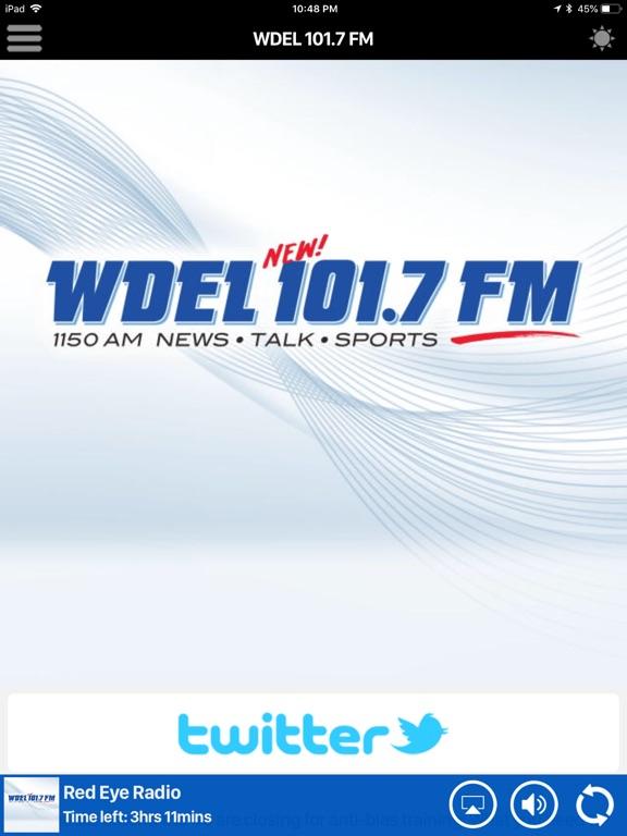 WDEL 101.7 FM Скриншоты8
