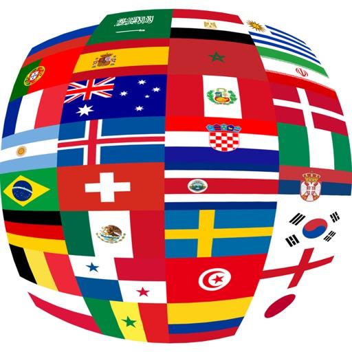 Top 32 World Soccer Flags
