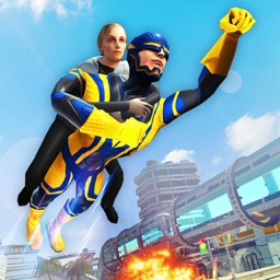 Super Hero City Rescue Sim