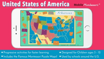 App Shopper: United States of America Map (Education)