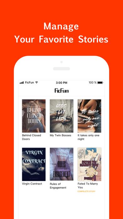 FicFun - Reading Fun Fiction Screenshot