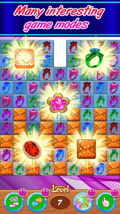 Jewelreal new match 3 games screenshot-3