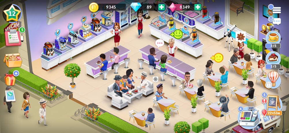 Tipps my cafe spiel Android Spiele