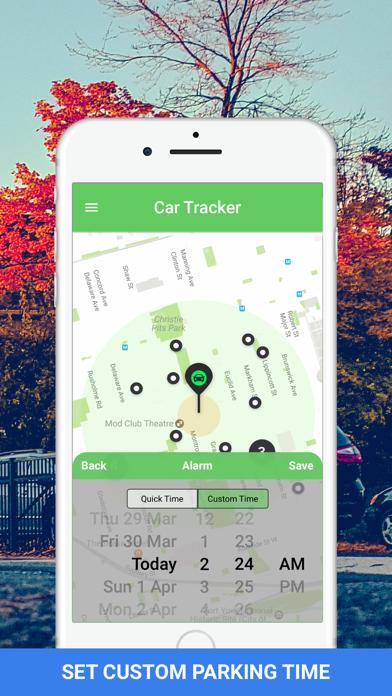 Car Tracker - GPS Auto Locator Screenshot