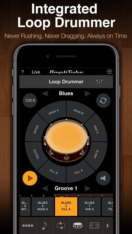 AmpliTube Jimi Hendrix™ screenshot-4