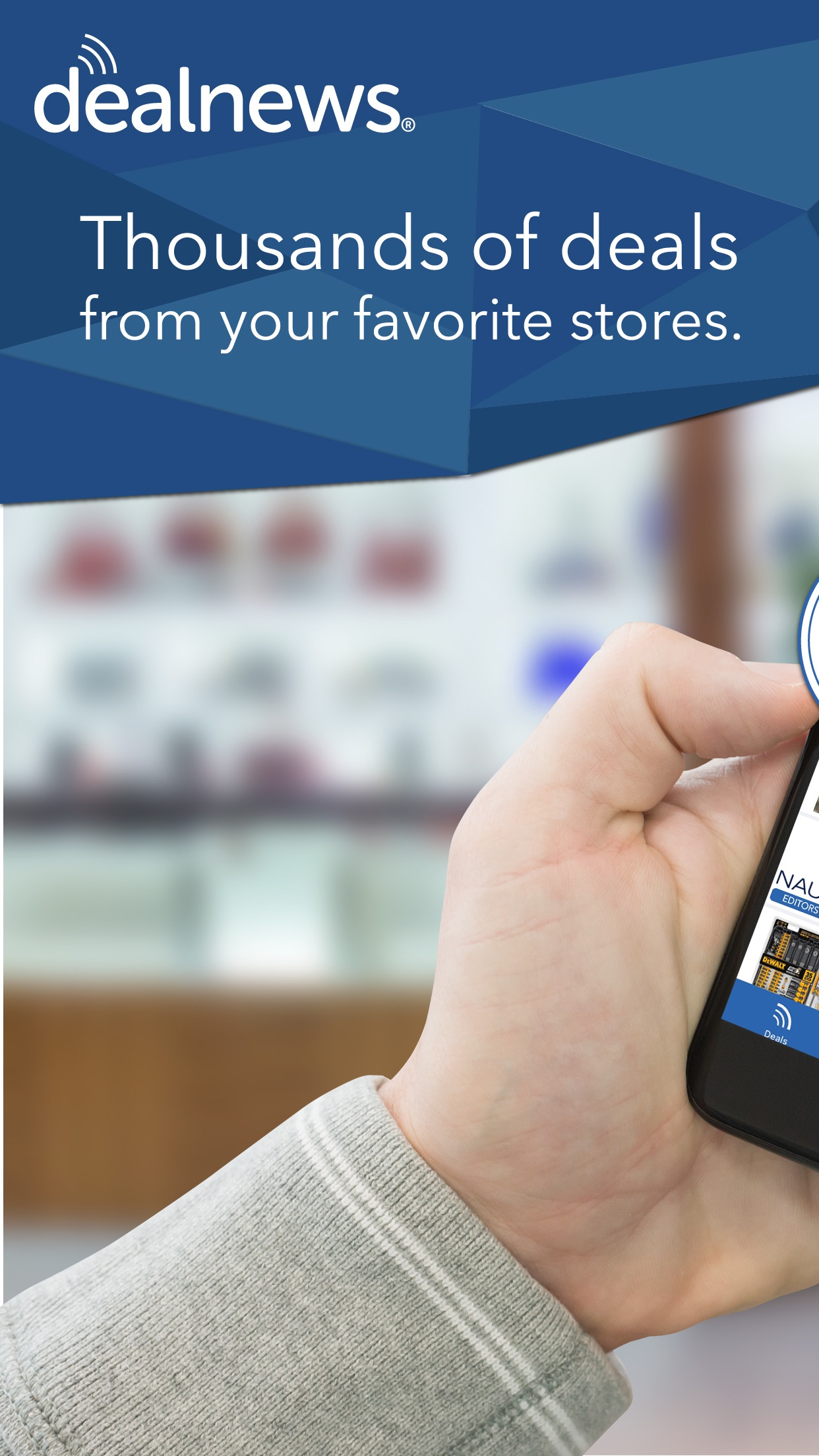 DealNews Deals & Coupons App Screenshot