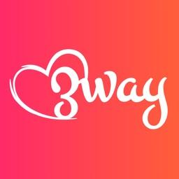 Threesome Swingers App - 3way