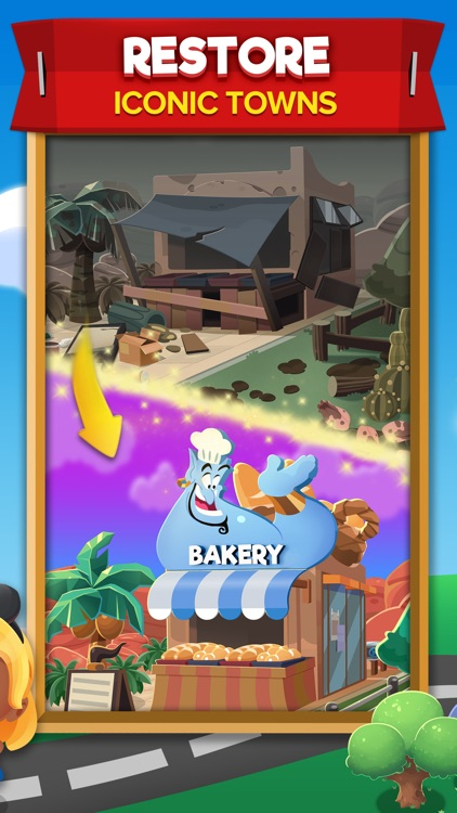 Disney Pop Town! Match 3 Games screenshot-3