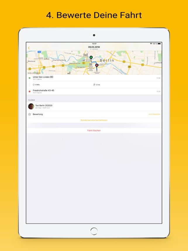 taxi.eu im App Store