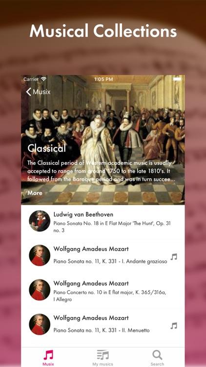 Musix - classical music screenshot-3