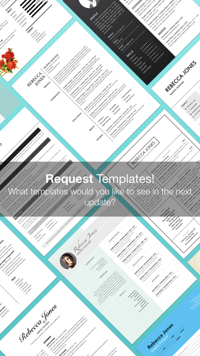 Resume Templates (for Pages)屏幕截图5