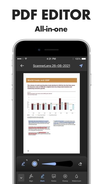 Scanner Lens: scan to pdf screenshot-5