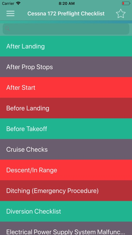 Cessna 172 Preflight Checklist screenshot-3