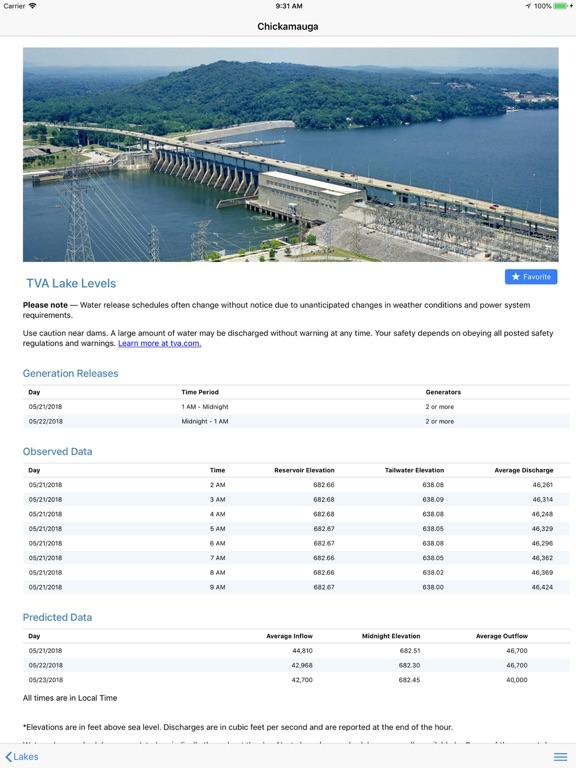 TVA Lake Info-ipad-2