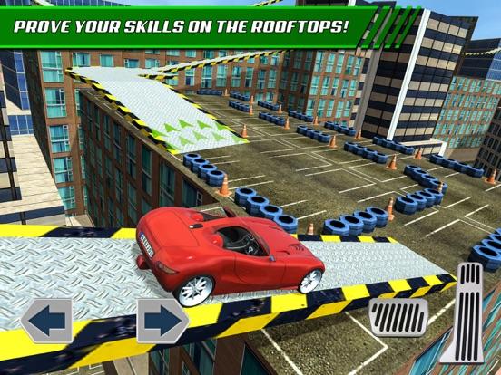Игра Roof Jumping: Stunt Driver Sim