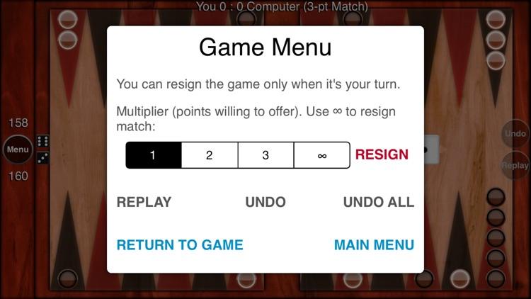 FaceMe Backgammon screenshot-3