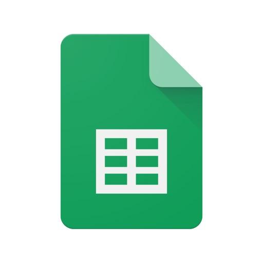 Google Sheets app for ipad