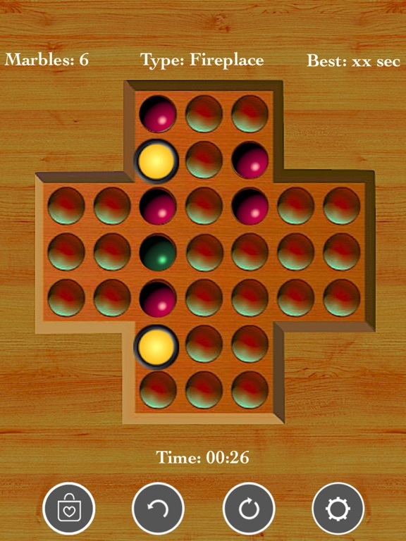Brainvita Peg Solitaire~ screenshot 10