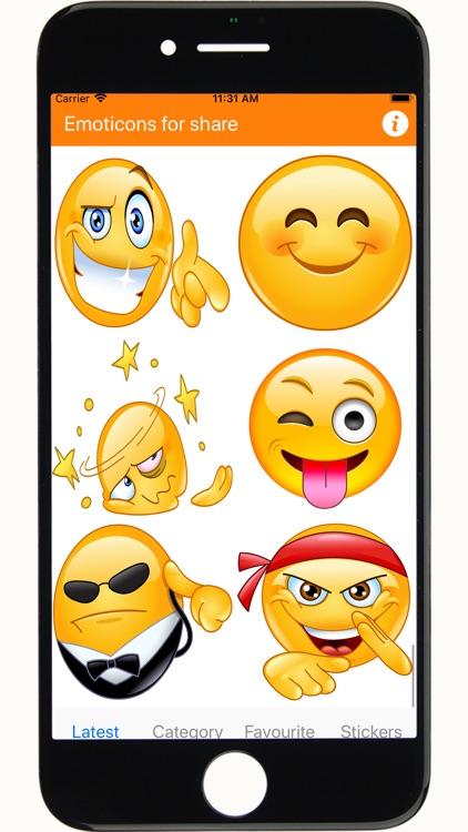 Emojis stickers for whatsapp screenshot-5
