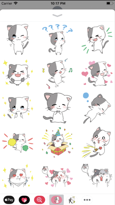 Cute Cat : Stickers