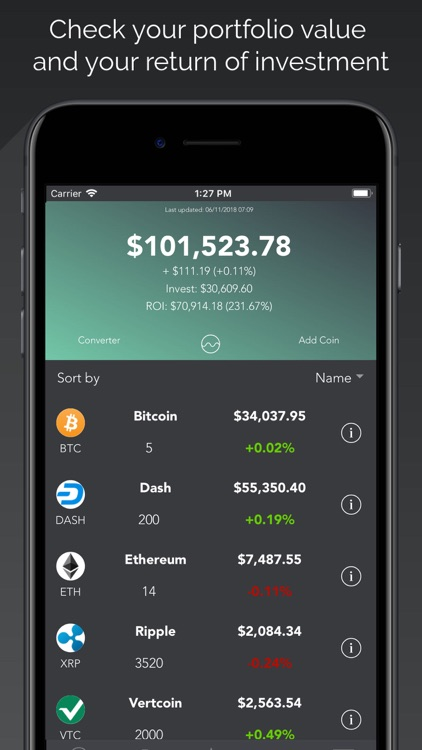 Cryptochange - Crypto Exchange screenshot-3