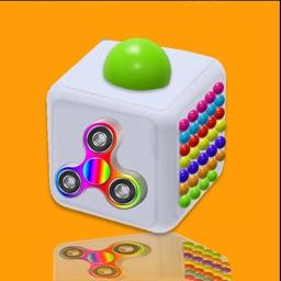Fidget Buttons 3D pop it App