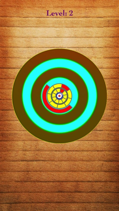 Screenshot of Strike Hit <-> Bulls eye App