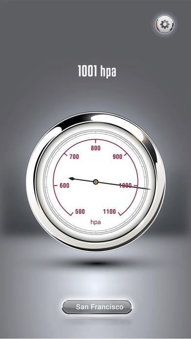 気圧計・気圧のモニター screenshot1